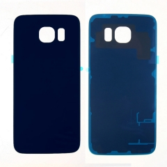 For Samsung Galaxy S6 G9200 G920 G920A G920F Back Rear Glass Housing Battery Door Cover With Adhesive
