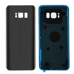 For Samsung Galaxy S8 G950 S8 Plus G955 Back Rear Glass Housing Battery Door Cover With Adhesive
