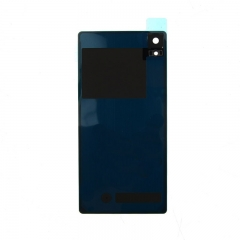 For Sony Xperia Z2 L50W D6502 D6503 D6543 Back Rear Glass Housing Battery Door Cover With Adhesive