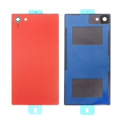 For Sony Xperia Z5 Compact Mini E5803 E5823 Back Rear Glass Housing Battery Door Cover With Adhesive
