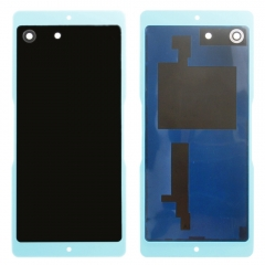 For Sony Xperia M5 E5603 E5606 E5633 Back Rear Glass Housing Battery Door Cover With Adhesive