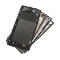 For Sony Xperia X Performance Sony XP F8132 Back Rear Glass Housing Battery Door Cover With Adhesive