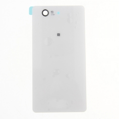 For Sony Xperia Z3 Compact Mini D5803 D5833 Back Rear Glass Housing Battery Door Cover With Adhesive