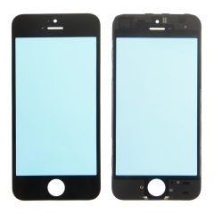 For iPhone 5S Front Outer Glass Lens Screen + Frame