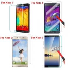 For Samsung Galaxy Note 3 Neo Note 4 5 8 Tempered Glass Protective Screen Protector Film