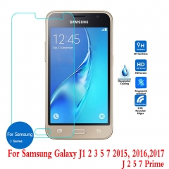 For Samsung Galaxy J1 2 3 5 Prime J7 Pro 2016 2017 Tempered Glass Protective Screen Protector Film
