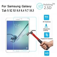 For Samsung Galaxy Tab S S2 S3 8' 8.4' 9.7' T700 T800 T710 T810 T820 Tempered Glass Protective Screen Protector Film