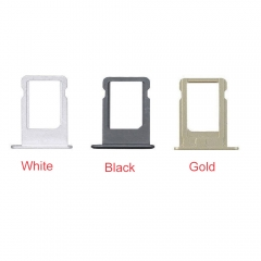 For iPhone 5S SIM Card Holder Tray Slot Reader
