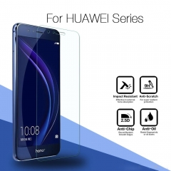 For Huawei Honor 4 5A 6C 7 9 8 Lite Nova V8 9 Tempered Glass Protective Screen Protector Film