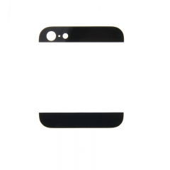 For iPhone 5 5G Black White Back Cover Case Up & Down Edge Glass