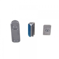 For iPhone 5S 3 in 1 Button Key Kit Set ( Power / Volume / Mute ) White Blue
