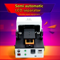 Semi Automatic LCD Separator Built-in Vacuum Pump 7'' Inch For Separating Glass Free Shipping
