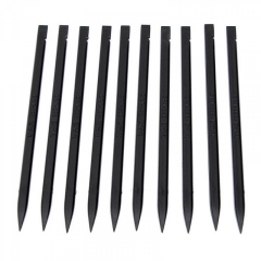 5x Black Plastic Spudger Stick Opening Repair Tool For iPhone iPad