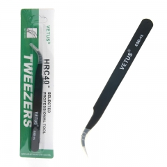 Stainless Steel Anti-static Anti-magnetic Curved Tweezer Maintenance ESD Tool