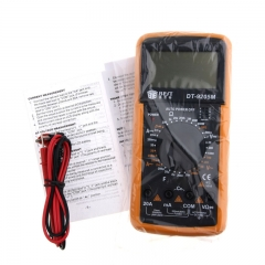 BEST DT9205M LCD AC DC Volt AMP OHM Digital Multimeter Electrical Meter
