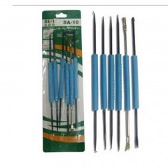 BEST BST SA-10 6 in 1 Professional Steel Solder Assist Repair Tools Set