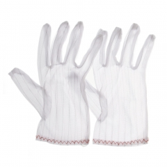 Anti-Static Anti-Skid Glove Slip ESD PC Computer Working Proof Cleanness Dustless