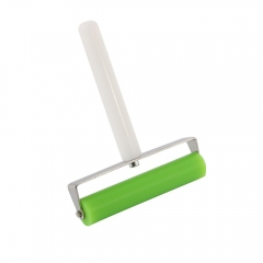 "Green 10cm 4"" Silicone Roller Tool Phone Screen Pasting Roller Wheel LCD OCA Polarizing Tools"