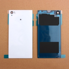 For Sony Xperia Z1 L39H Back Rear Glass Housing Battery Door Cover With Adhesive
