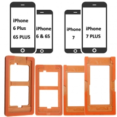 LCD OuterFor iPhone 4 4S 5 5S 5C SE 6 7 8 Plus Glass Lens Repair Mould Mold Alignment LOCA UV Glus