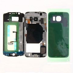For Samsung Galaxy S6 G920 G920P G920A G920F Full Housing Chassis Back Cover Case