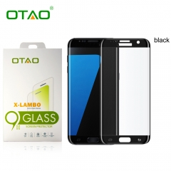 For Samsung Galaxy S7 Edge OTAO 3D Full Cover Curved 0.33mm Tempered Glass Screen Protector Film