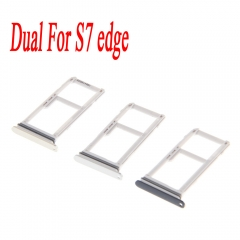 For Samsung Galaxy S7 Edge G935A G935T G935P Dual SIM Card Frame Tray