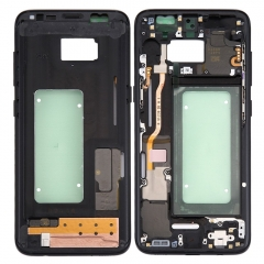 For Samsung Galaxy S8 Plus G955 G955F Middle Housing Frame Bezel And Side Button Flex Cable