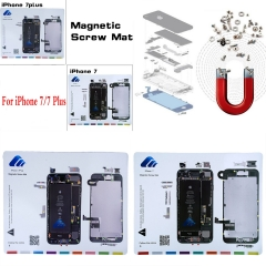 For iPhone 7 8 Plus Magnetic Screw Chart Mat Repair Guide Holder Pad Tool