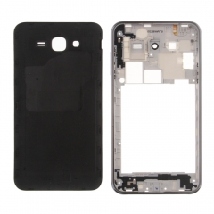 For Samsung Galaxy J7 SM-J700 Middle Housing Frame Bezel And Back Battery Cover