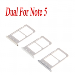 For Samsung Galaxy Note 5 N920 N920F N920A N920V N920T Dual SIM Card Tray Slot Holder