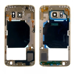 For Samsung Galaxy S6 G920 G920P G920A G920F G920T G920V Middle Housing Frame Bezel