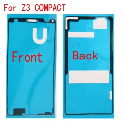 For Sony Xperia Z3 Compact Mini D5803 D5833 LCD Digitizer And Back Battery Cover Tape Sticker Glue Adhesive