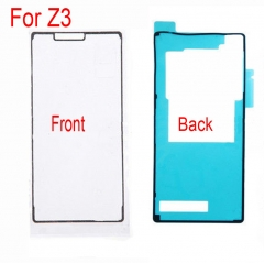 For Sony Xperia Z3 L55W D6603 D6643 D6653 D6616 LCD Digitizer And Back Battery Cover Tape Sticker Glue Adhesive