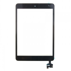 For iPad Mini Screen Touch Digitizer Front Glass With Sticker Home Button And IC