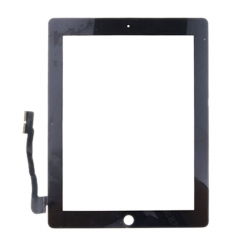 For iPad 3 4 LCD Screen Touch Digitizer Front Glass