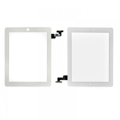 For iPad 2 LCD Screen Touch Digitizer Front Glass