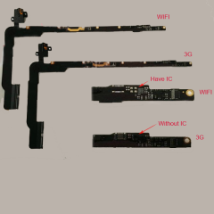 For iPad 3 iPad 4 Headphone Audio Jack Headset Flex Cable Wifi And 3G Version