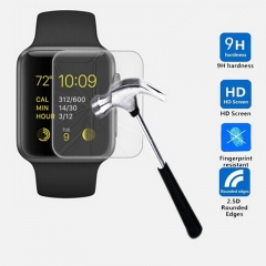 For Apple Watch iWatch 38 / 42mm Tempered Glass Screen Protector Film