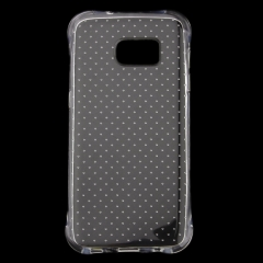For Samsung Galaxy S4 S5 S6 S6edge S7 S8 Plus Rubber Clear Transparent Soft Silicone Gel Back Case Cover