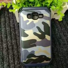 For Samsung Galaxy S7 Edge S8 Plus 2 in 1 Armor Plastic+TPU Army Camo Camouflage Shockproof Phone Case