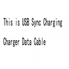 USB Sync Charger Data Cable For 5 5S 6 6S 7 8 Plus