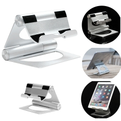 Solid Aluminum Folding Stand Holder for iPad, Samsung Galaxy Tab, Tablet PC,PDA
