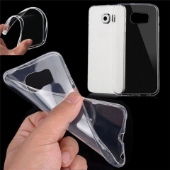 For Samsung Galaxy Note 3 4 5 8 A3 A5 A7 A8 A9 J5 J7 Clear Transparent Soft Silicone Protective Back Case Cover