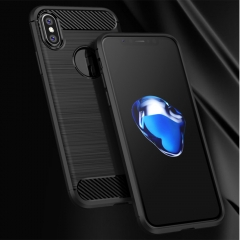 For iPhone X Luxury Bumper TPU Soft Rubber Skin Back Case Cover