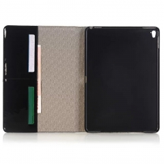"For iPad Air Mini Pro 12.9"" PU Leather ID Card Wallet Case Pouch"