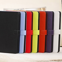 For iPad Air 2 3 4 Classic PU Leather Holder Protective Back Case Cover