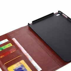 "For iPad Air Mini 1 4 Pro 12.9"" PU Leather Wallet Card Stand Flip Case Cover"