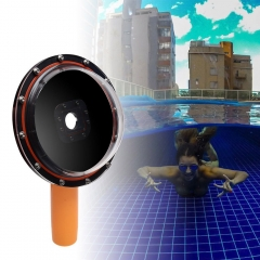 Waterproof Dome Port Diving Underwater Lens Hood Water Protective GoPro 3 3+ 4 5