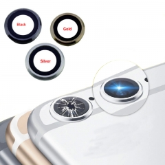 "For iPhone 6S 4.7"" Rear Back Camera Lens With Frame And Adhesive"